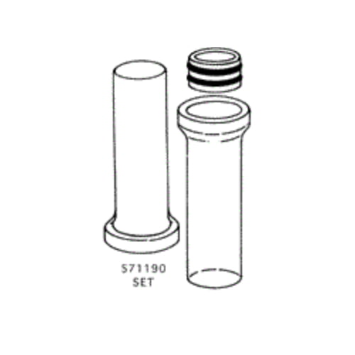 Glass Solvent Seal Joint